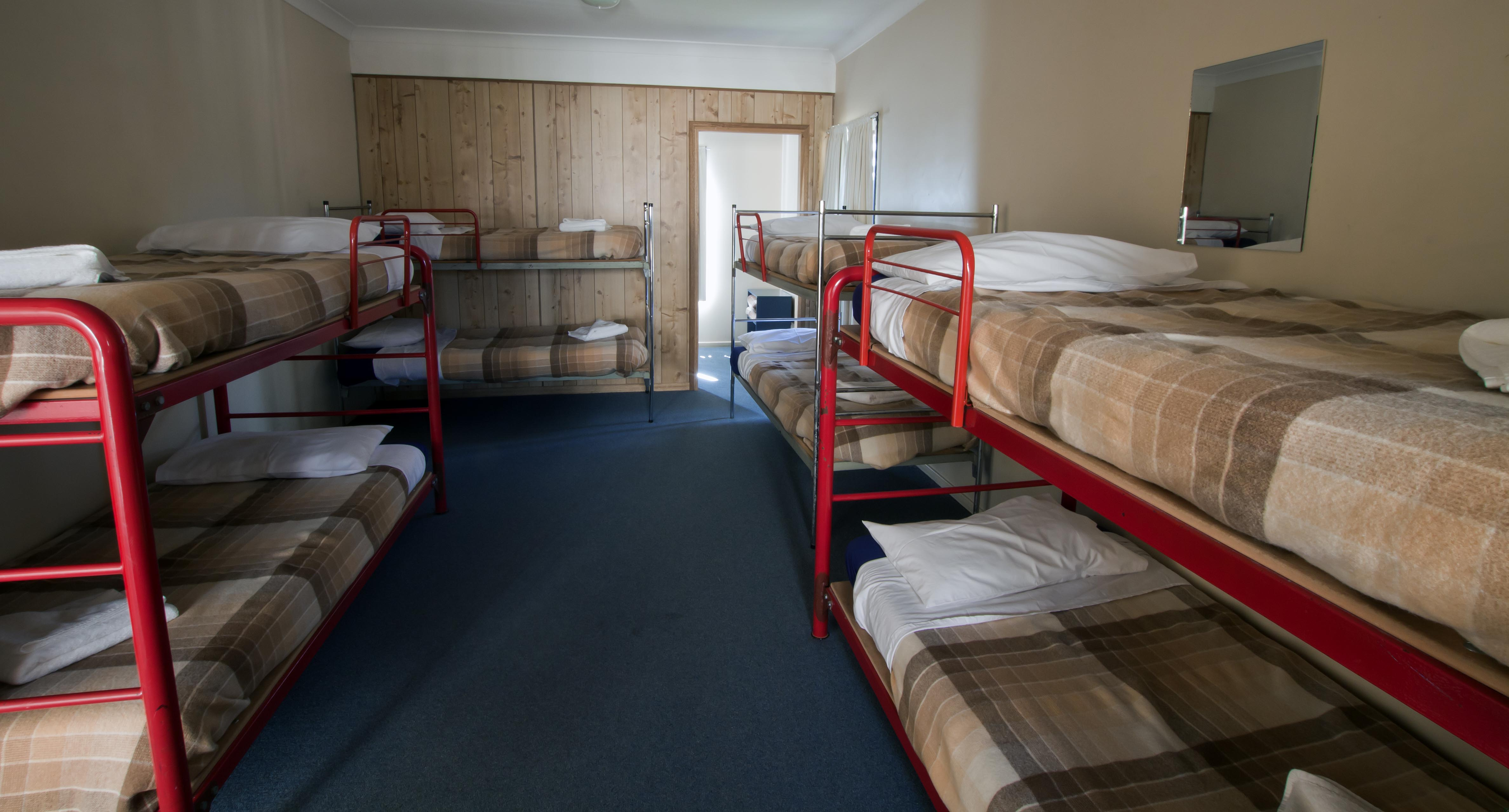 Comfortable dormitory style lodging
