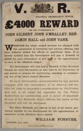 ben hall reward